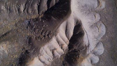 Bentonite domes and ridges below Mt Garfield.